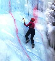25 февраля в Цее состоялось открытое первенство по ледолазанию