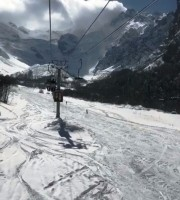 В Цее выпало много снега!!! Убедиться в этом можете посредством новой Веб-камеры!